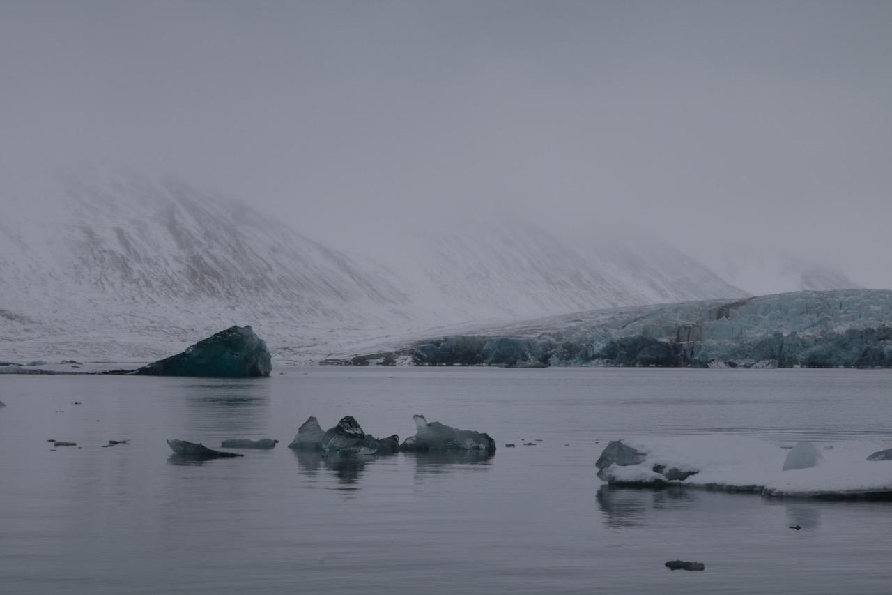 Lena von Goedeke in der Arktis