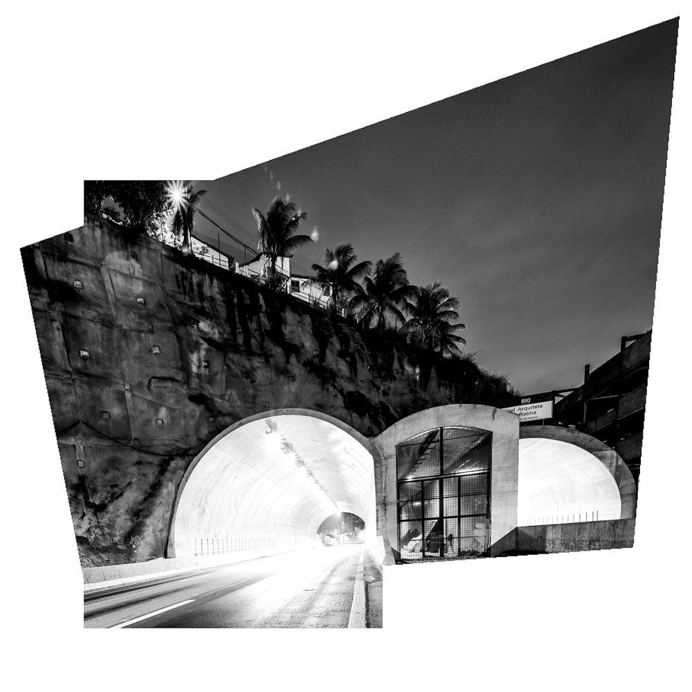 Martin Ogolter: Túnel Arquiteta Nina Rabha (2013)