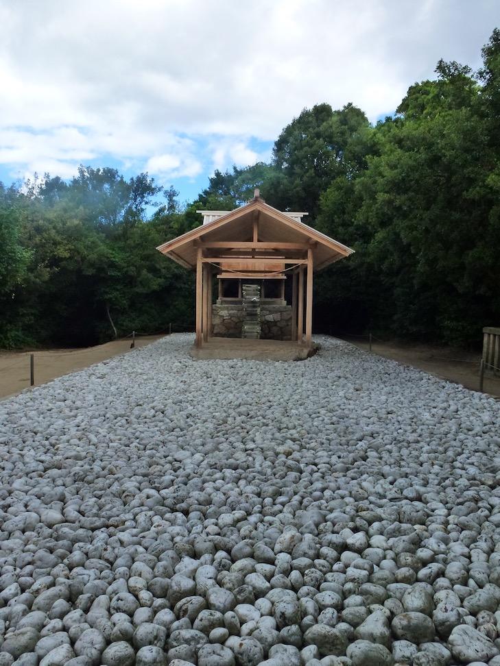 Go'o Shrine, Naoshima Japan, Artist: Hiroshi Sugimoto