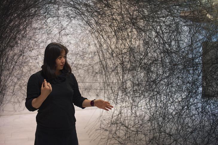 CONVERSATIONS Chiharu Shiota