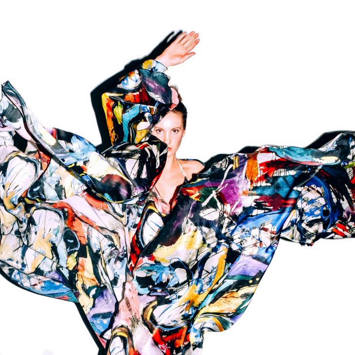 """Rahel Guiragossian Kollektion präsentiert in Moskau während der """"Mercedes-Benz Fashion Week Russia"""", 2019"""