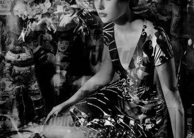 Opaline Crystal Flask China Girls 2018 Courtesy Valerie Belin Galerie Nathalie Obadia Paris Brussels copyright Valerie Belin