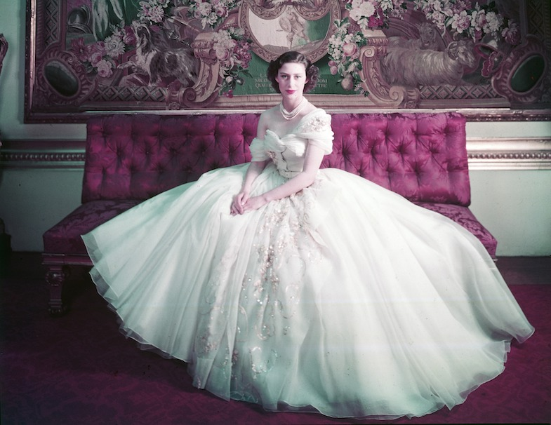 Royal Portrait of Princess Margaret on her 21st birthday Photograph by Cecil Beaton (1904–1980) © Victoria and Albert Museum, London