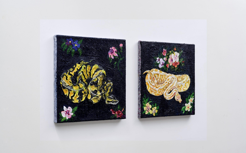 Edie Monetti, Atelier Muenchen, Dez 2018