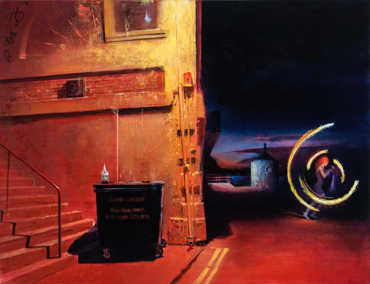 Firesign, courtesy Gallery Friedmann-Hahn
