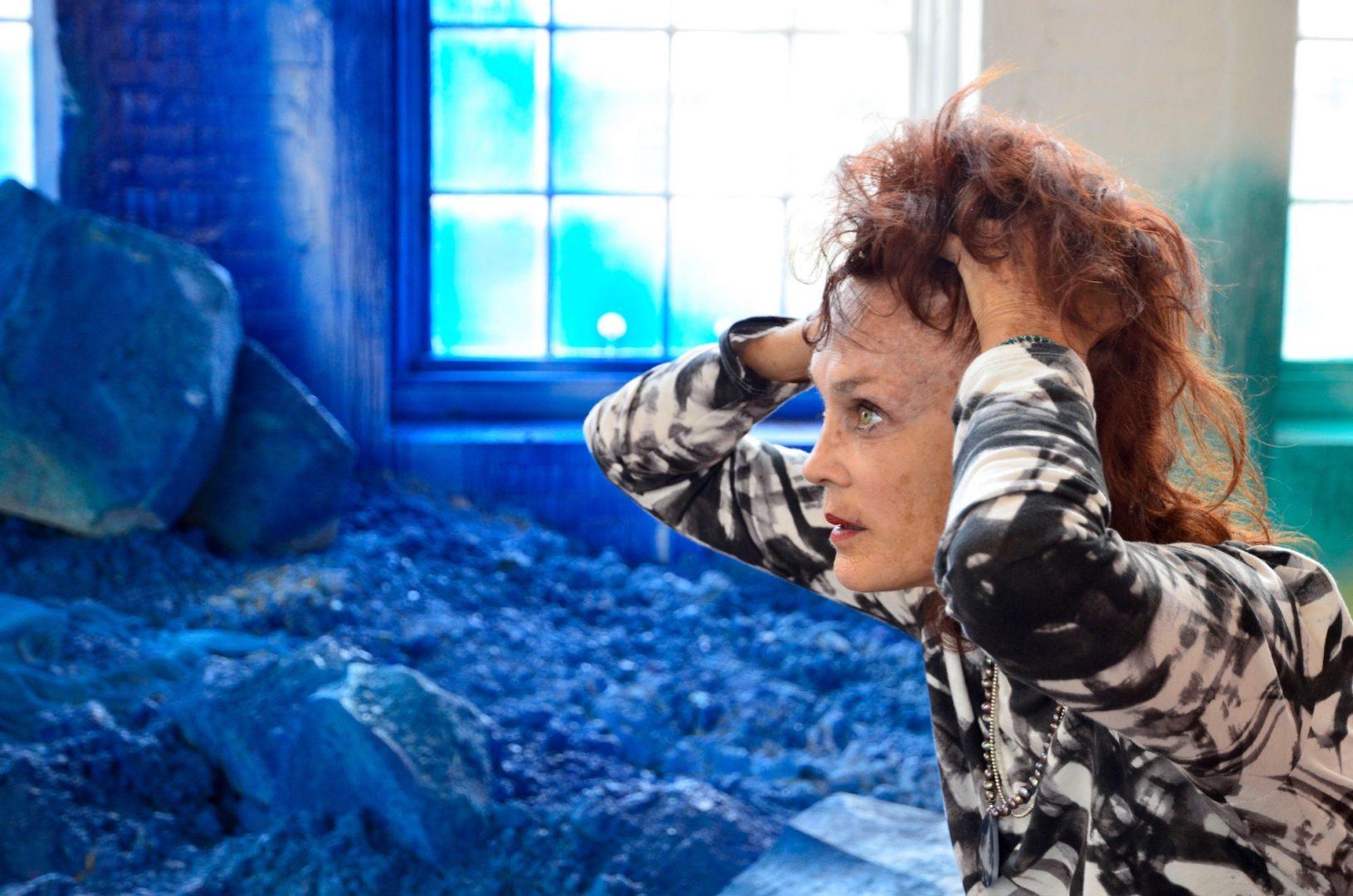 Self Portrait, Blue, 2014