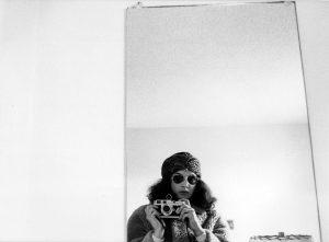 Self-Portrait, Dorm, Syracuse University, 1973