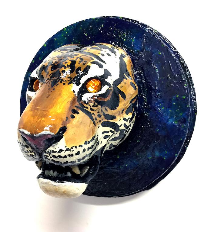 Edie Monetti, Tiger skull trophy, 2017
