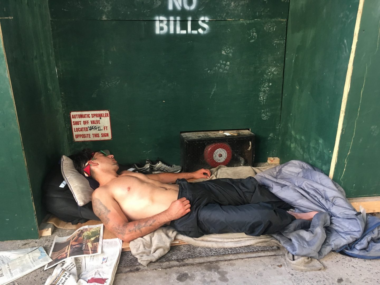Homeless. NYC, Linda Troeller