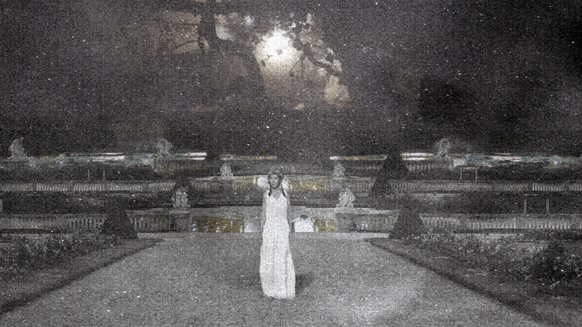 """Film still """"Anoir and the woman in the garden"""", Patricia Reinhart"""