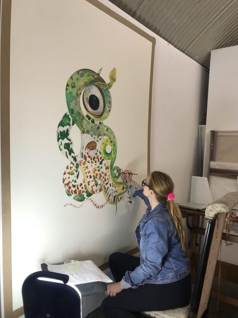 Maria Thurn und Taxis at her London studio, 2019 photo credit: Hugo Wilson