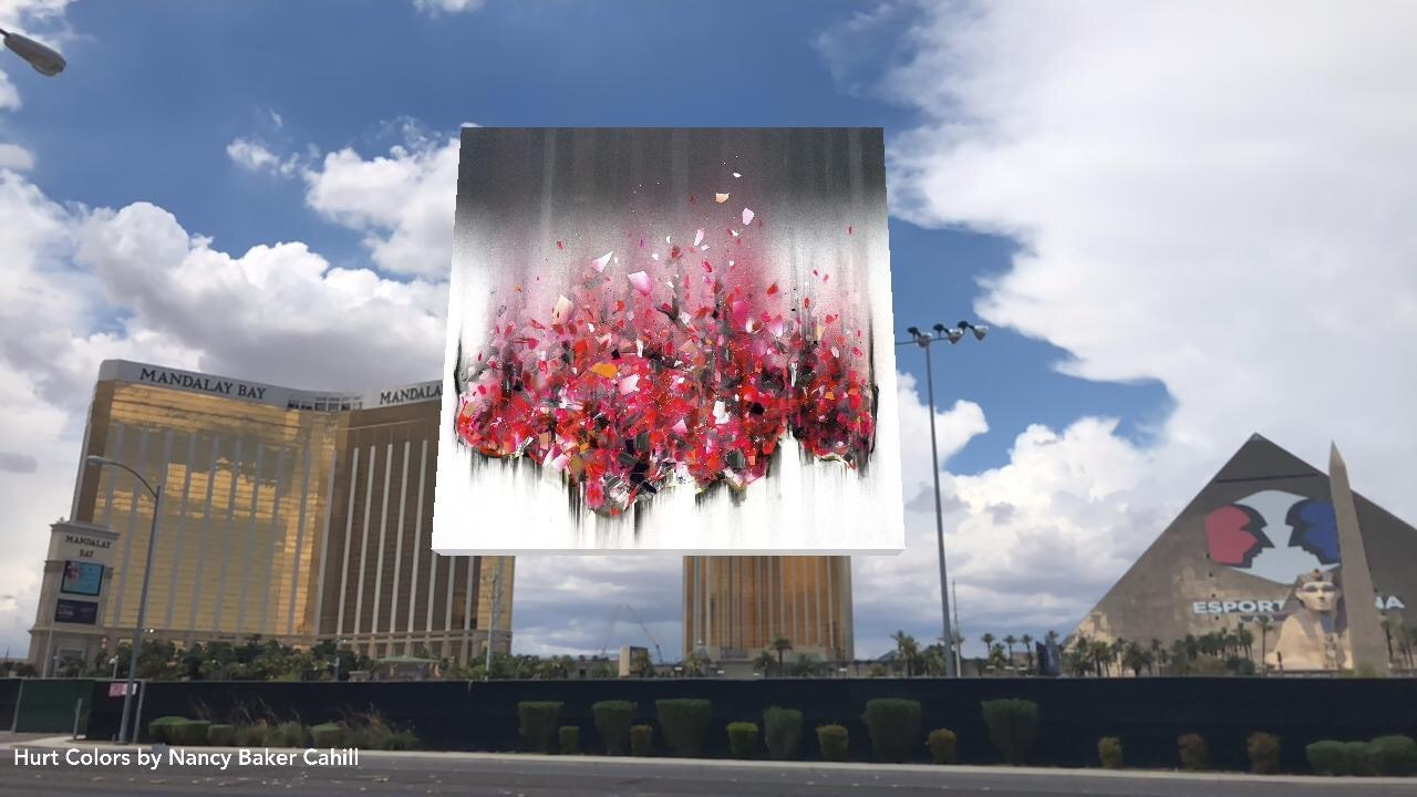 "Nancy Baker Cahill ""Hurt Colors"" (2018), Las Vegas"