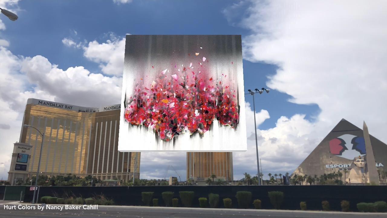 "Nancy Baker Cahill ""Hurt Colors"" (2018), Las Vegas"