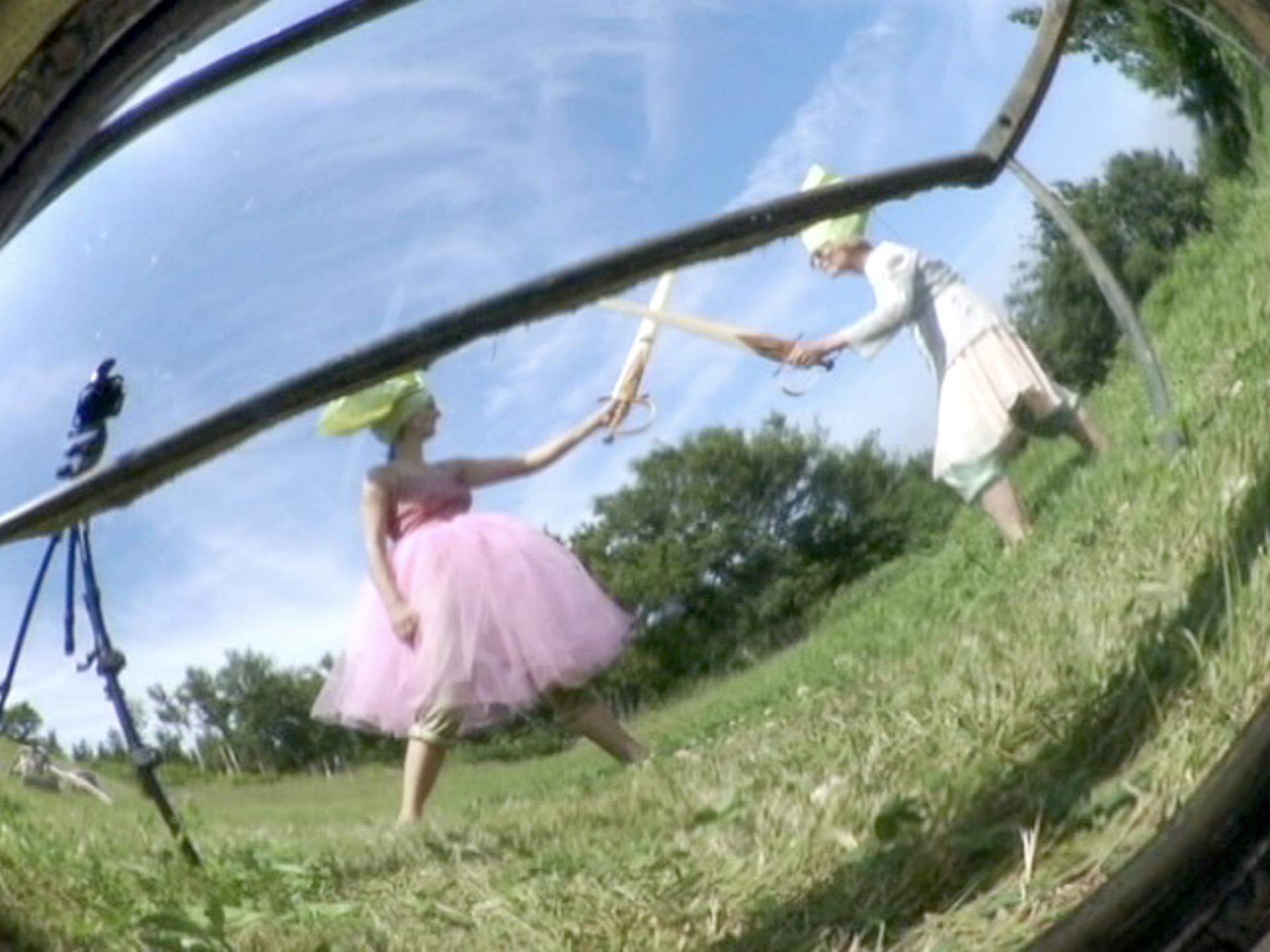 Joan Jonas, Mirror Improvisation, 2004, Video, Courtesy of the artist and Amanda Wilkinson Gallery, London