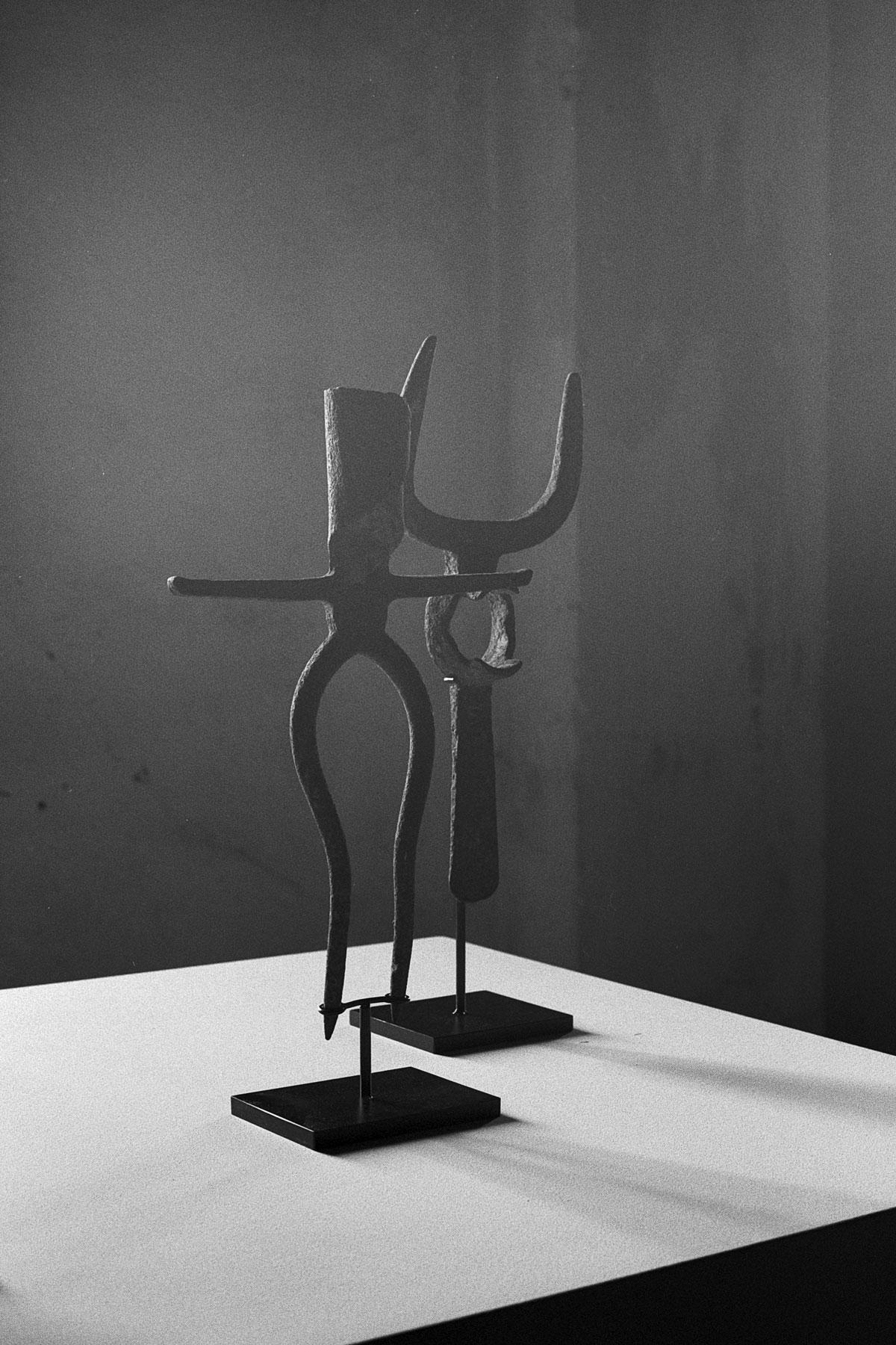 © Photograph by Marco Maria Zanin. 'Figure Femminile e Maschile' (2018) from Ritualia series. Silver gelatin print