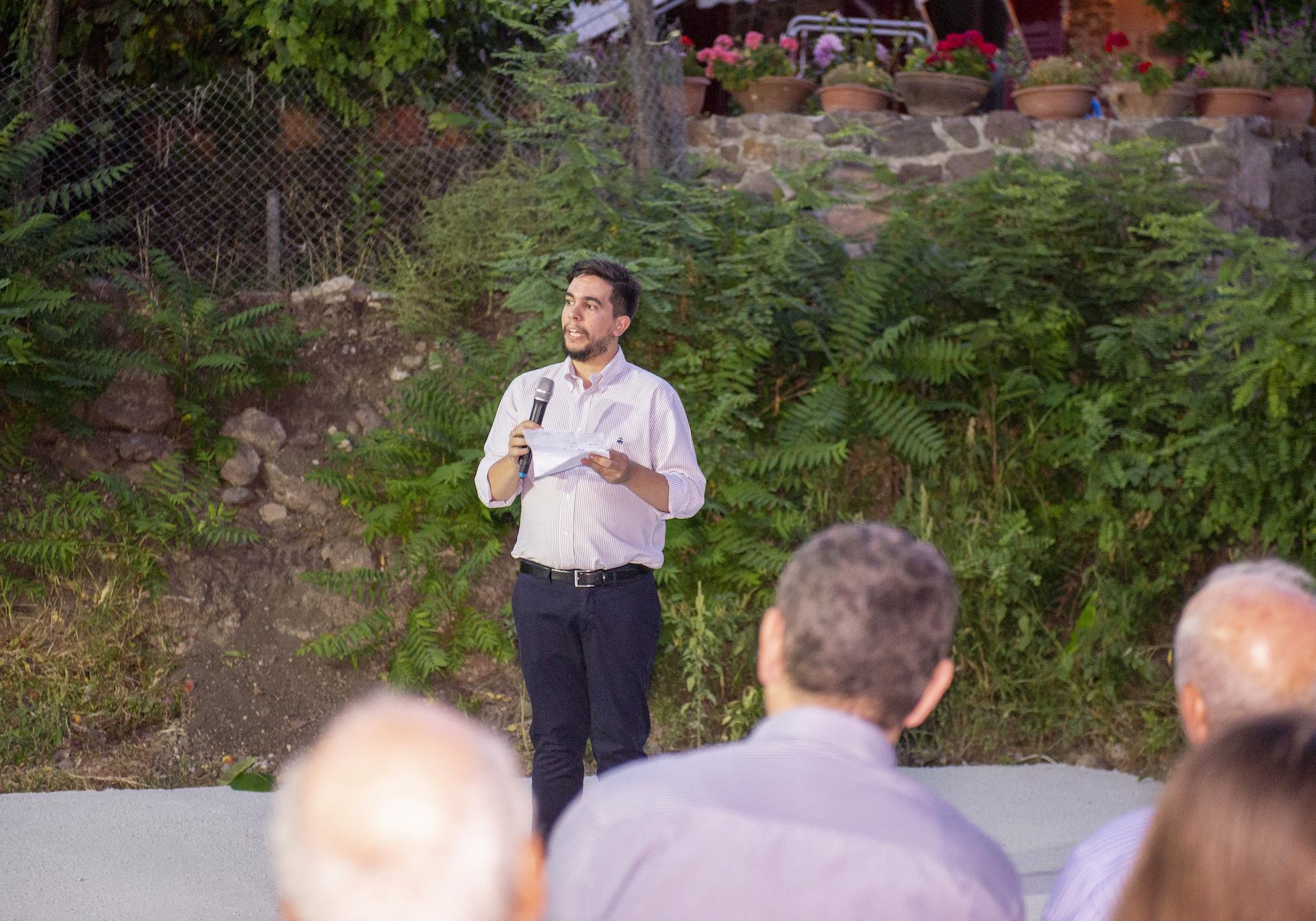 Nicolas Vamvouklis, founder of K-Gold Temporary Gallery