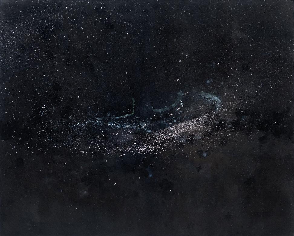 Valérie Favre, Fragment A, 2012, 146 x 178 cm