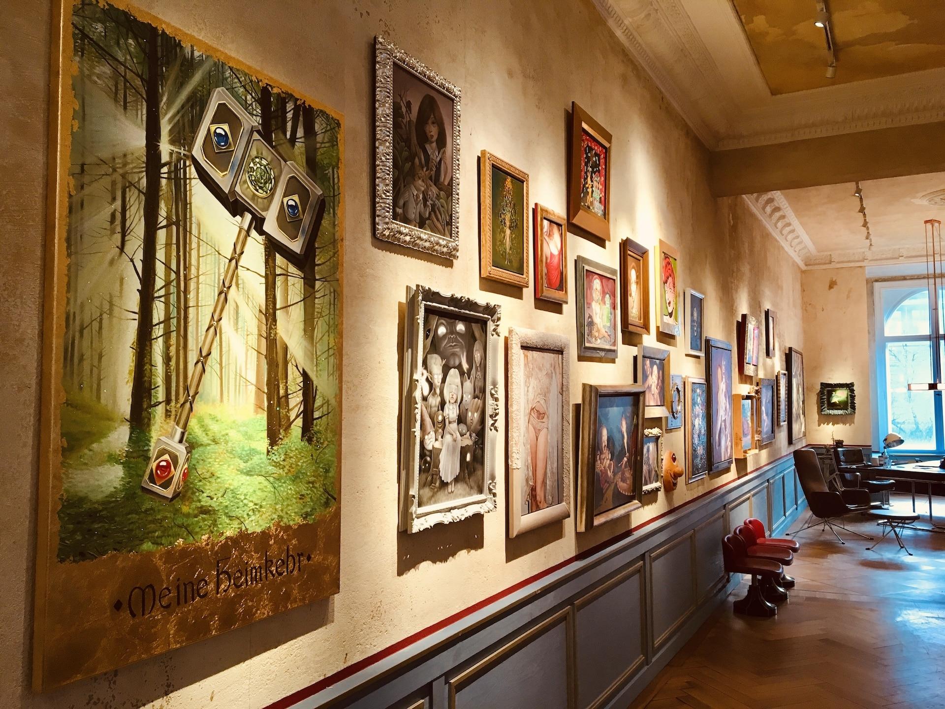 Sammlung Ulrich Seibert, Installationsansicht