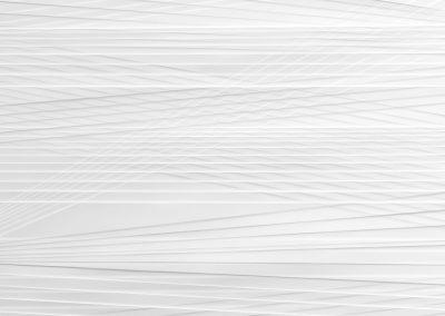 Antje Blumenstein, lines P34, 2017, Papier gefalzt, gerahmt 60 x 60 cm