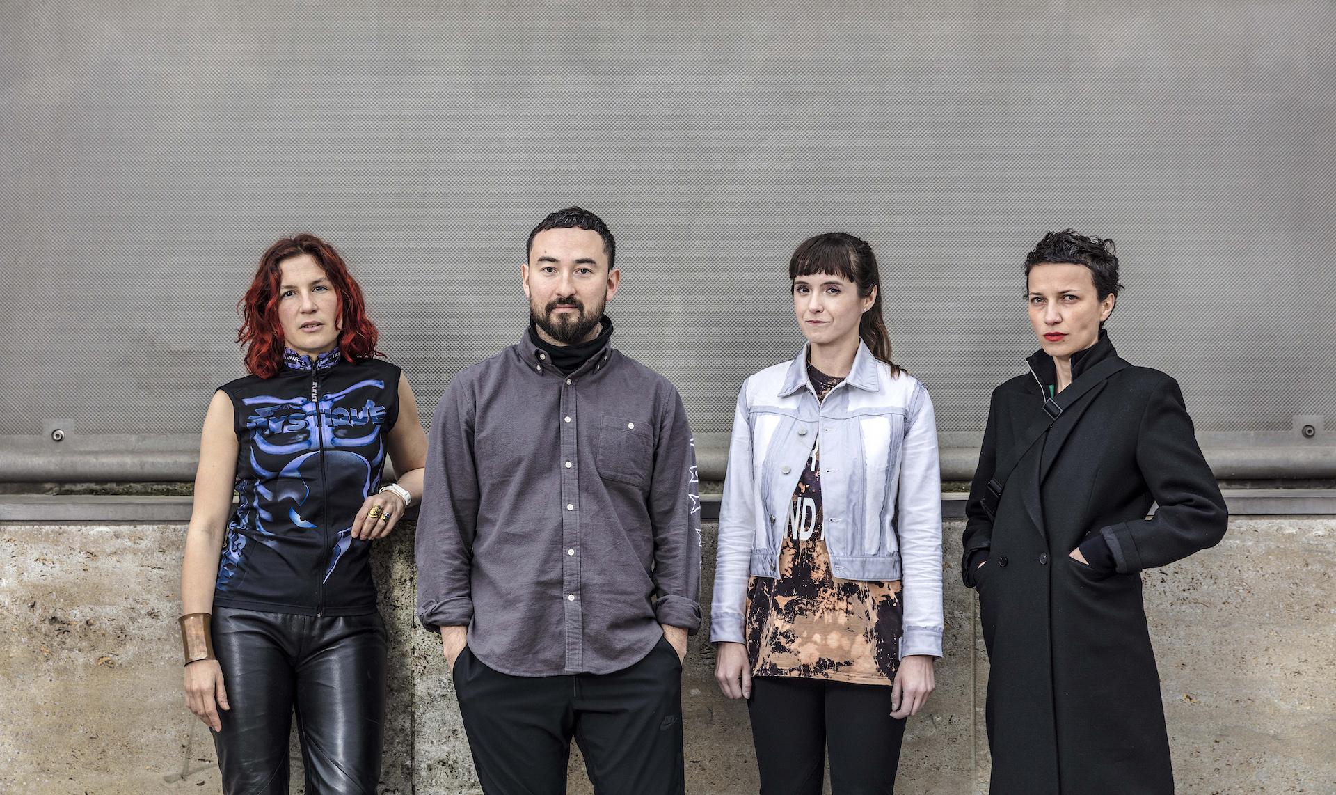 Die vier nominierten Künstler für den Preis der Nationalgalerie 2019: Pauline Curnier Jardin, Simon Fujiwara, Katja Novitskova und Flaka Haliti. Foto: David von Becker