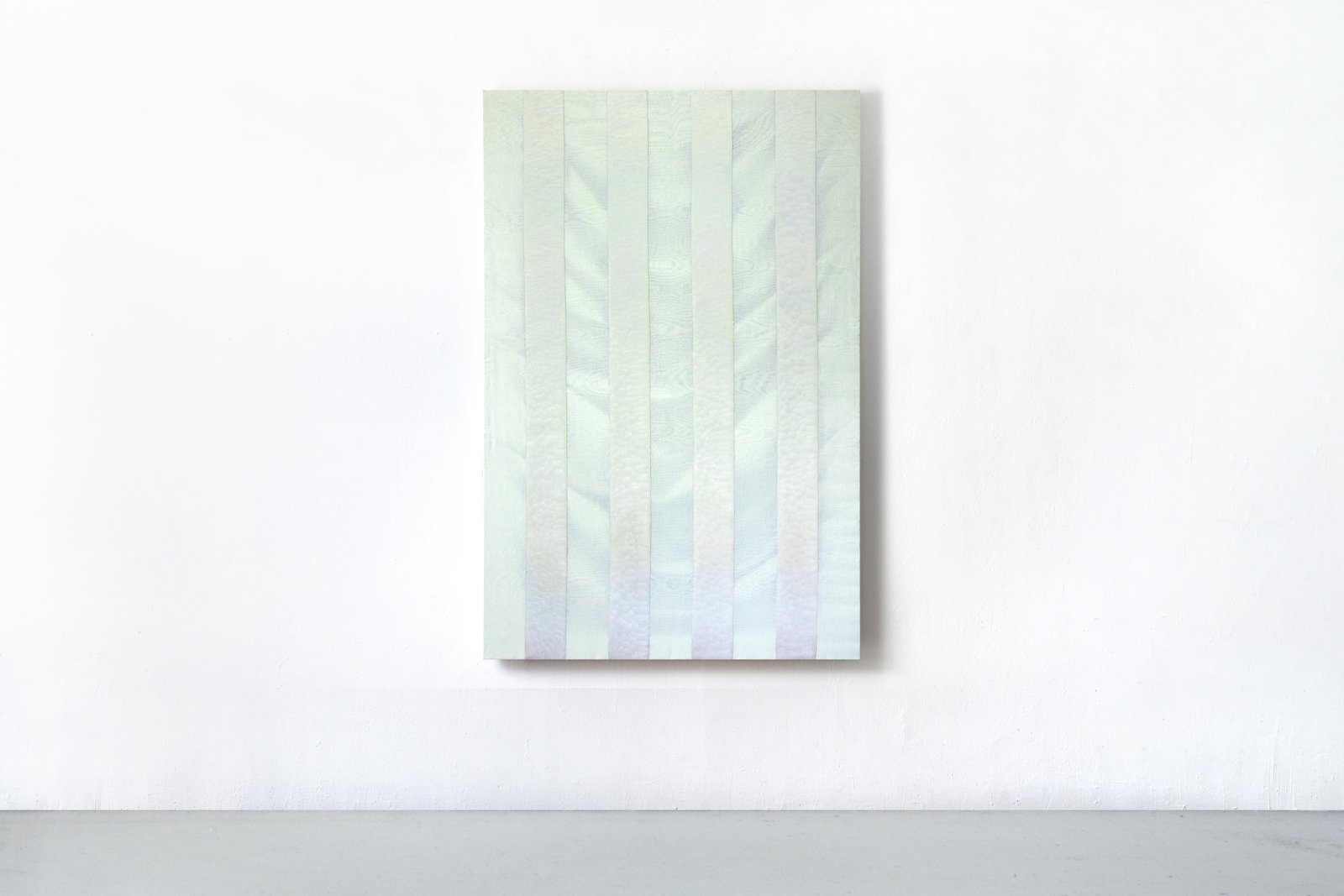 Martine Poppe, A place Id like to be, 2019, 150 x 100 cm oil on cotton