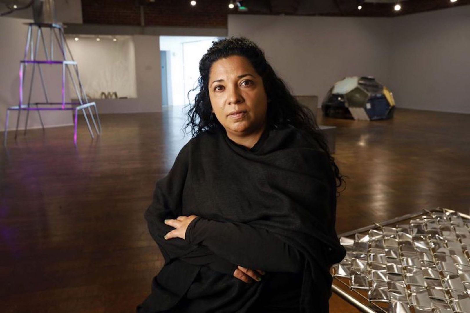 Beatriz Cortez. Courtesy of the artist and Commonwealth and Council. Photo: Carolyn Cole / Los Angeles Times.