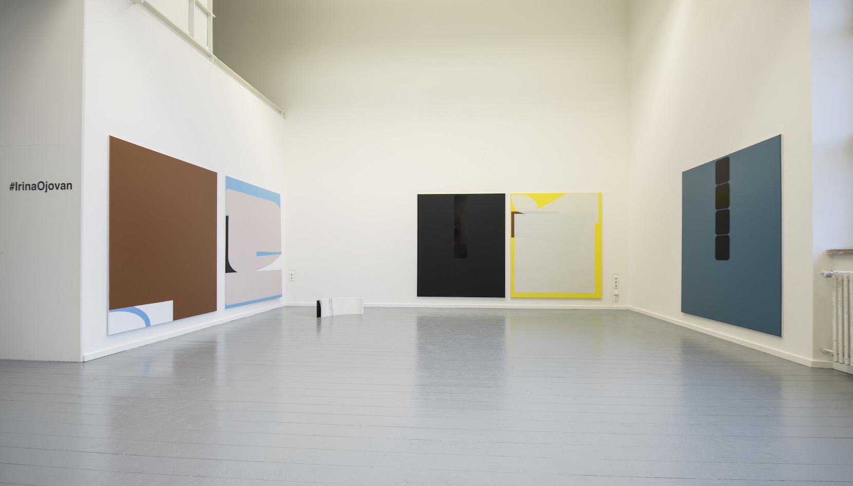 Irina Ojovan, Diploma Exhibition view 2018:Meisterschülerausstellung