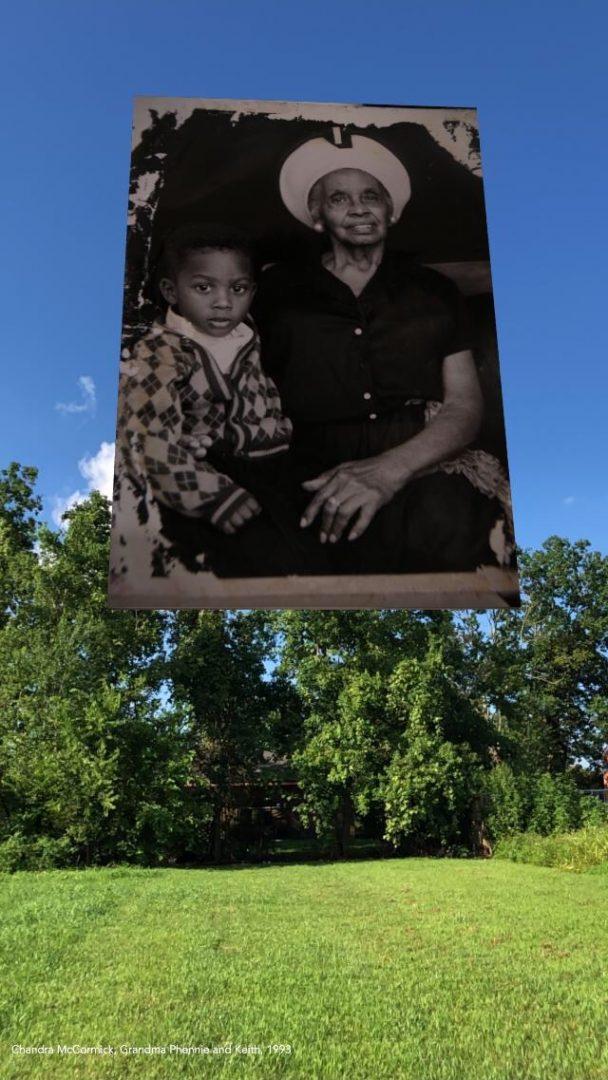 NOLA Chandra McCormick, Grandma Phennie and Keith 1993
