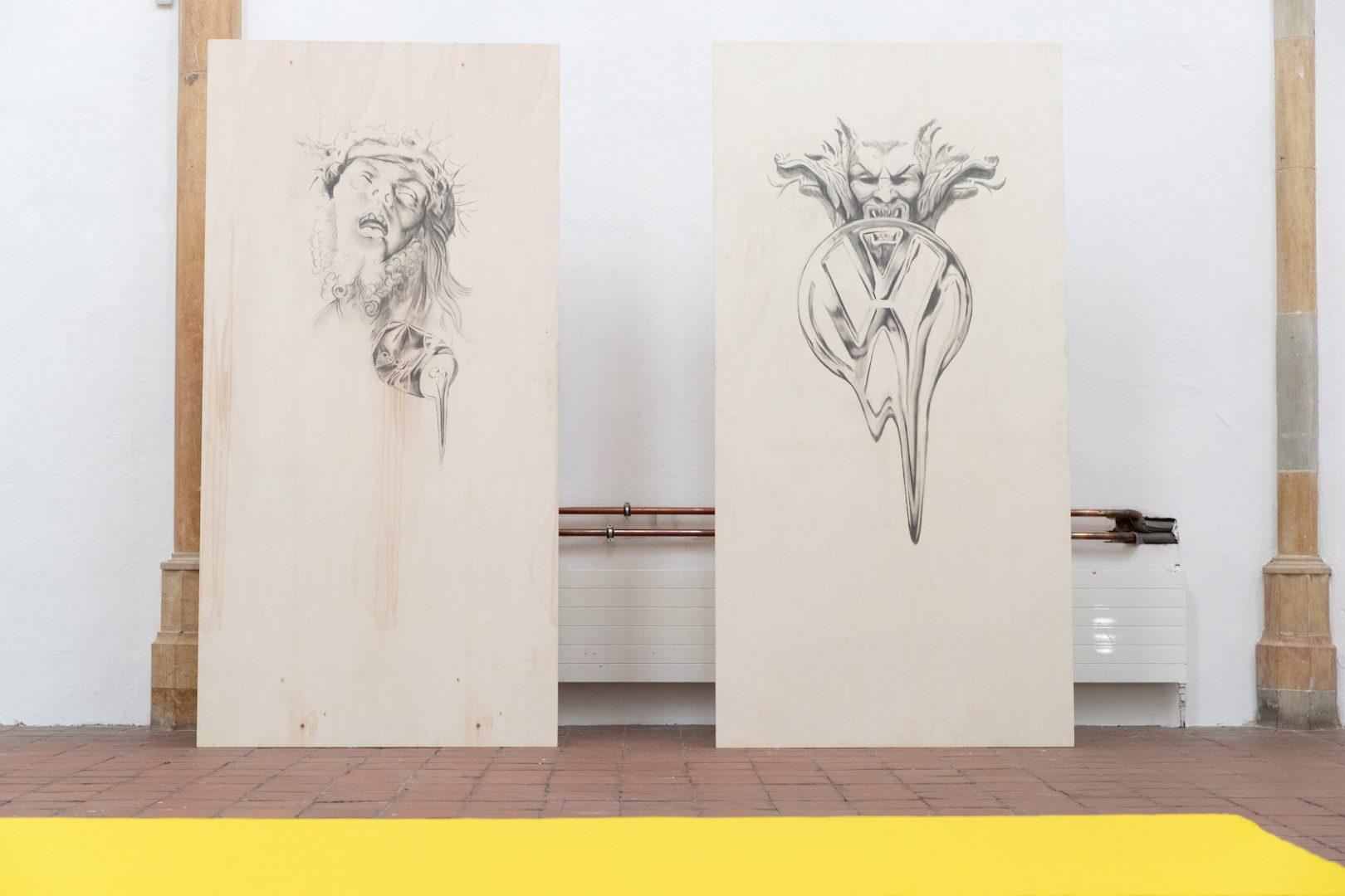 Filip Markiewicz | Celebration Factory, Exhibition View, Kunsthalle Osnabrück, 2019/20. Photo: Filip Markiewicz. Courtesy Filip Markiewicz / Kunsthalle Osnabrück
