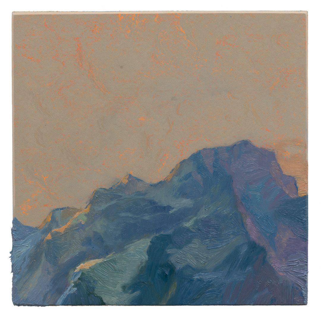Ruprecht von Kaufmann, Mein Traum, 2019, Ölbild Öl auf Linoleum auf Holz, 20 x 20 cm
