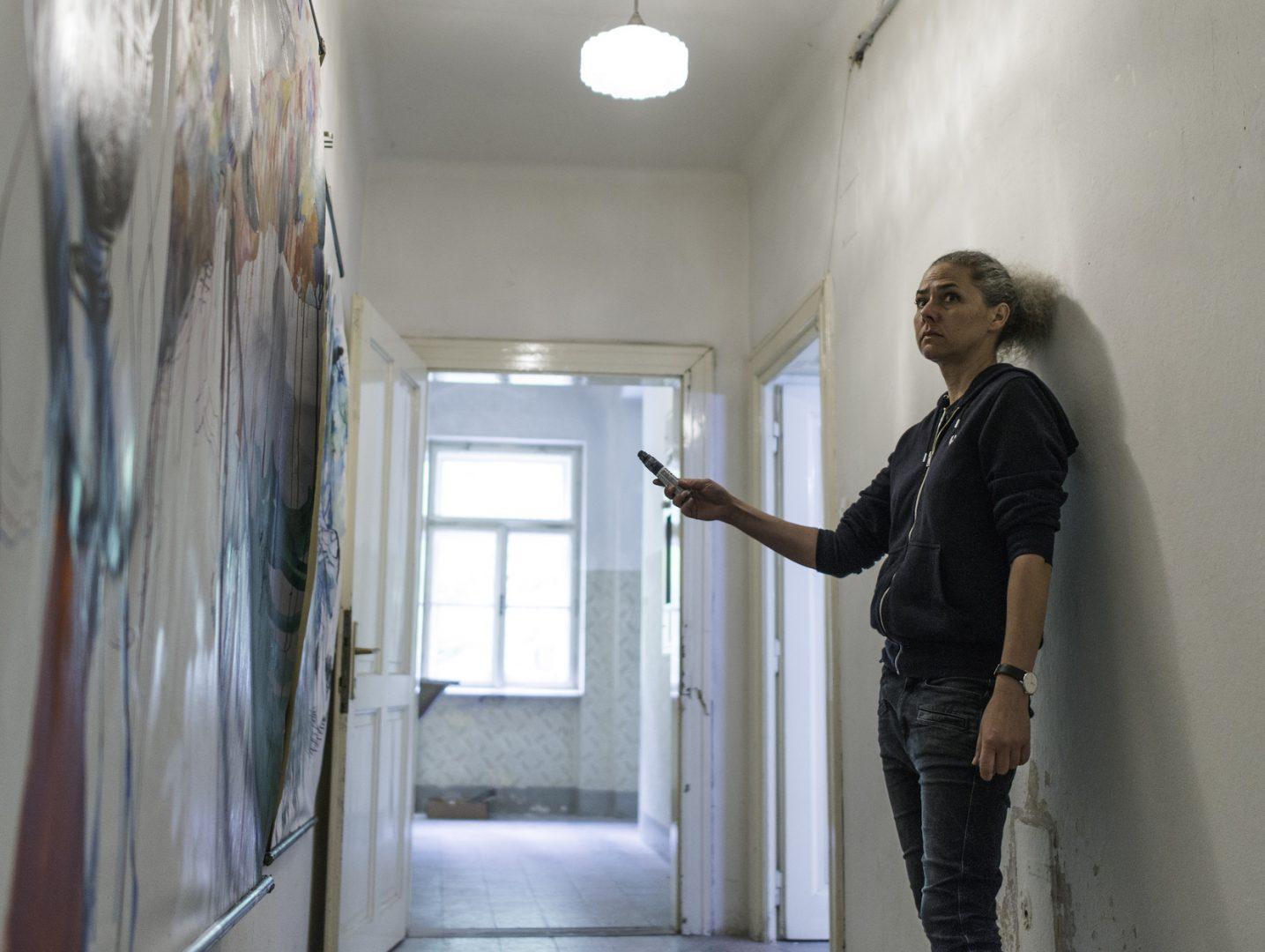 Helga Schmidhuber, Atelieransicht, SommerFrischeKunst, 2017, Photo credit: Holger Schmidhuber