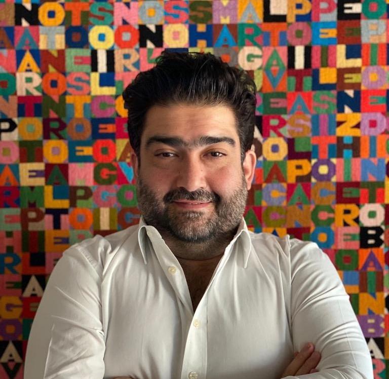 Kamiar Maleki, VOLTA Fair Director