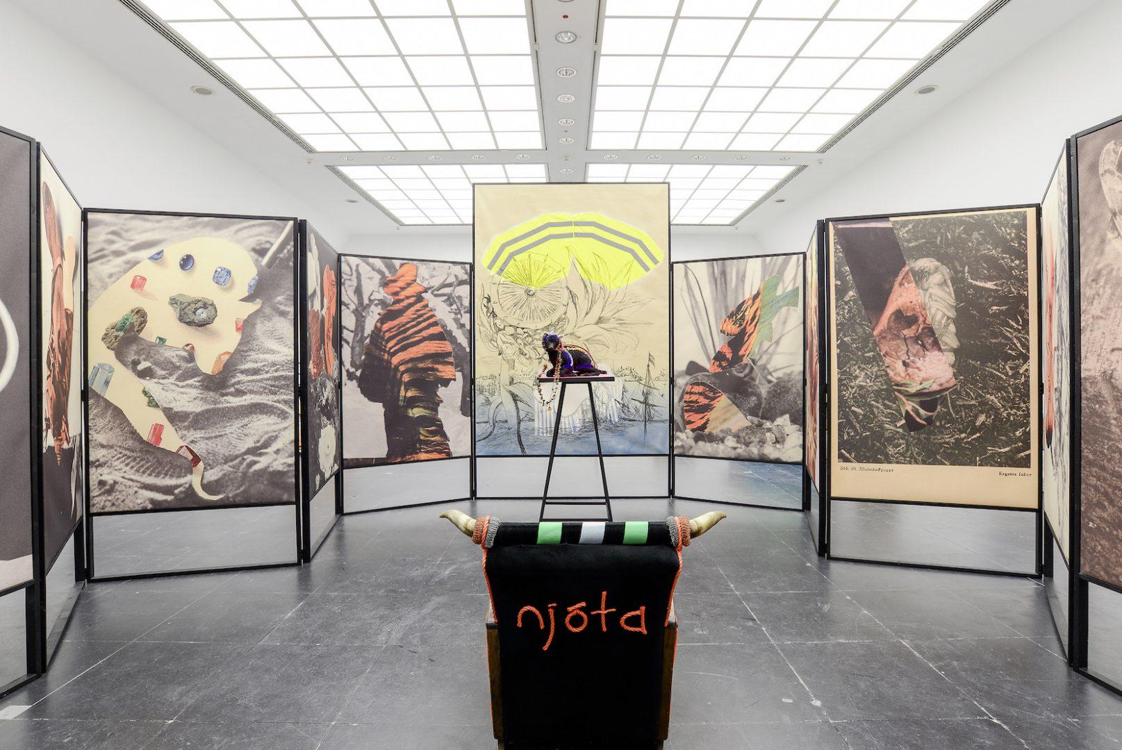 "Helga Schmidhuber, Installationsansicht ""Does Voodoo work? II"", Frankfurter Kunstverein, 2015, photo credit: Holger Schmidhuber"