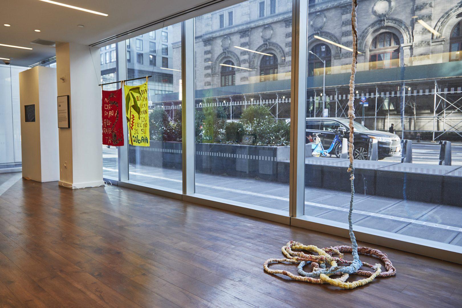 Igor Vidor, Against Again: Art under attack in Brazil , 2020, Installation view, Shiva Gallery, New York