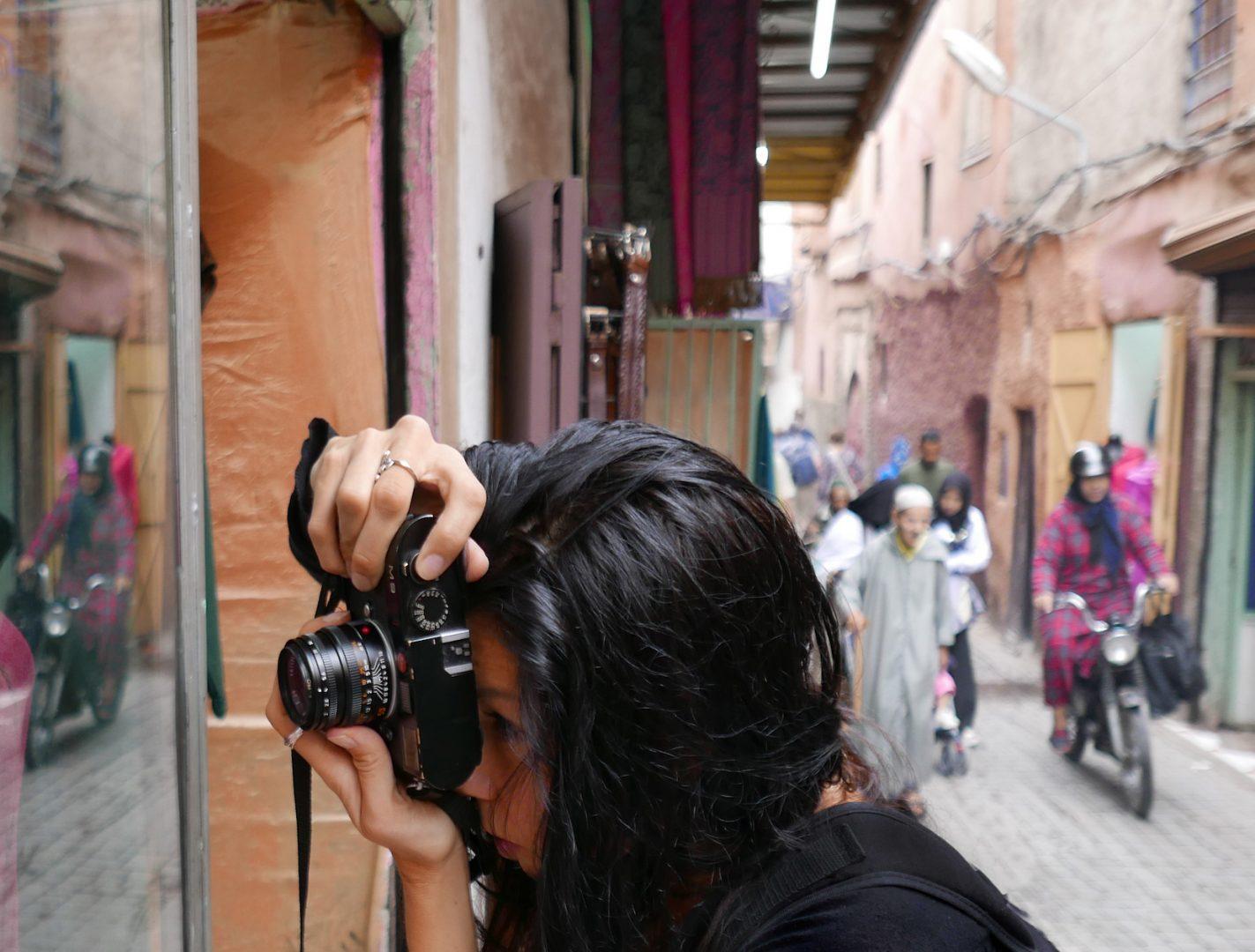 Die Fotografin und Filmregisseurin Franziska Stünkel