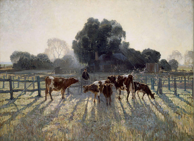 Elioth Gruner, 1919, Spring frost