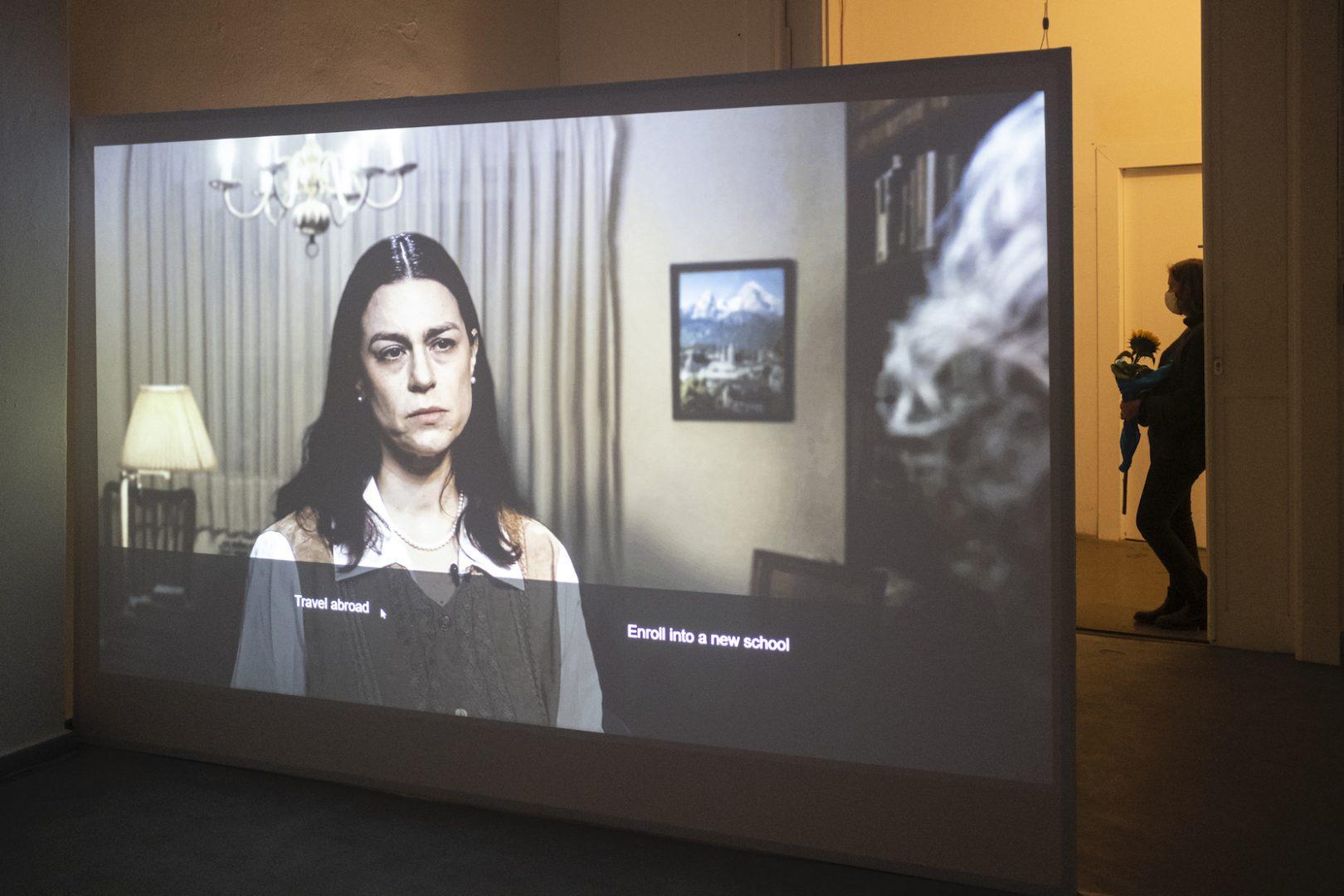 SHARON PAZ & ELIANNA RENNER: Fragmented Narratives 9
