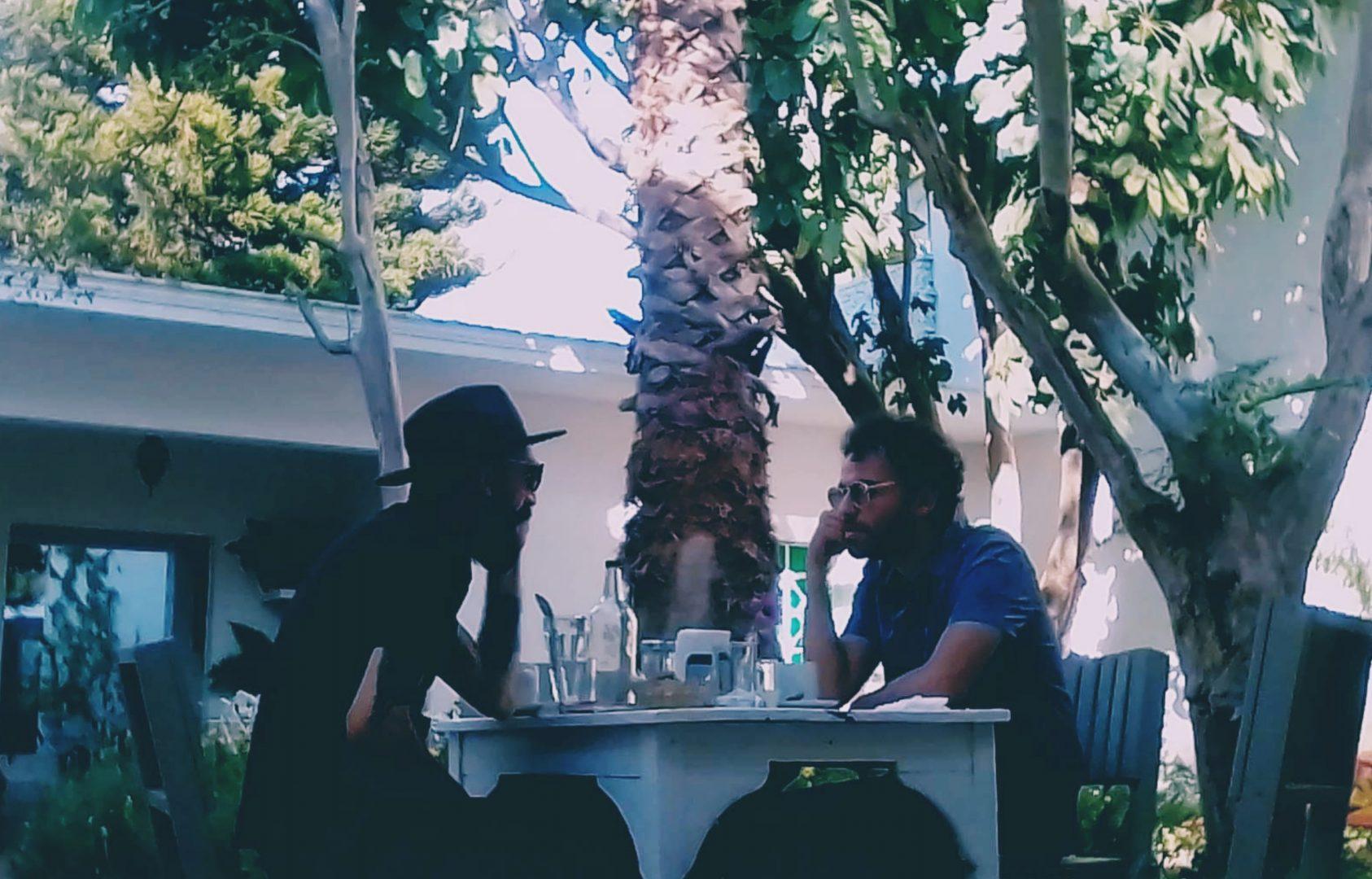 Rodrigo and LEMAT in conversation, photo by Hanna