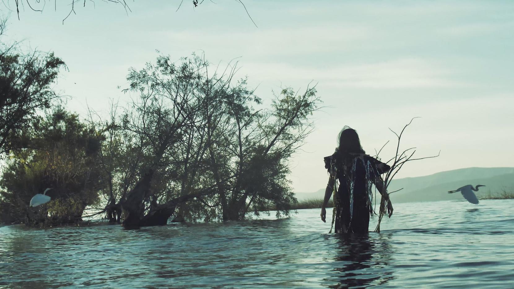 HANNA in Lake, GAVIOTAS, STILL FROM VIDEO